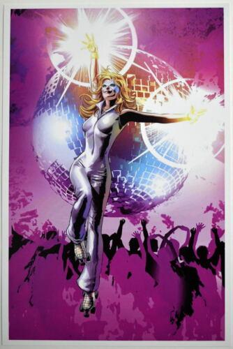 Disco DAZZLER Print Marvel X-Men