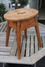 Original Victorian Milking Stool