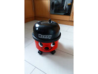 Henry Vacuum cleaner - not vax or hoover.