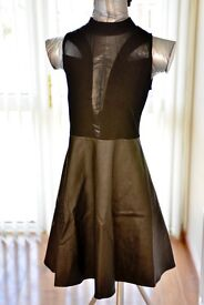Skater Dress, size S, in Black by Motel. Brand new with tags.