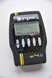 Compex SP 4.0 muscle stimulator - Complete kit - Pain management, Rehab, Recovery, fitness, strength
