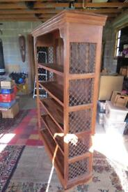 Beautiful solid bookcase for sale