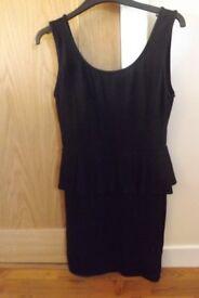 New Look Peplum Dress Size 12