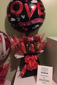 Chocolate Valentine Bouquet
