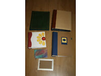 FREE: 5 Photo Albums for 6x4 photographs and Photo Frame for 6x4 prints