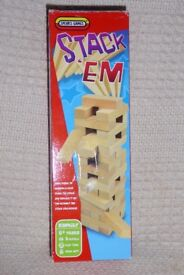 Spears Games Stack-Em Action Game (Like Jenga or Tumbling Tower), Histon