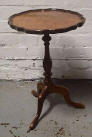 Antique walnut wine table (DELIVERY AVAILABLE)