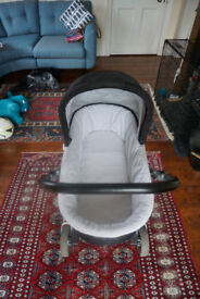 Mamas and Papas Urbo complete travel system - chassis, car seat, pram, stroller