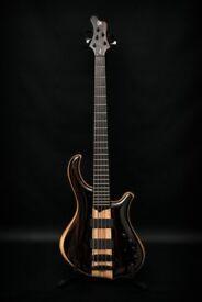 Mayones Slogan 5 String bass - Mint Condition