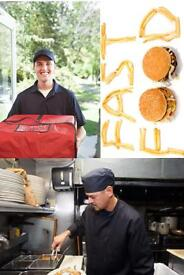 Fast Food Takeaway Kitchen Staff/Manager/Delivery Drivers