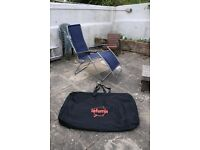 Reflexology Lafuma Reclining Chair + Lafuma Carry Bag