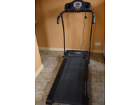 Electric Confidence GTR Treadmill with pre set programs.