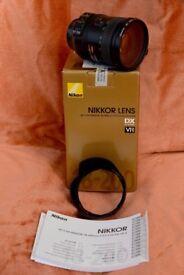 Nikon AFS DX Nikkor 18-200mm f/3.5-5.6G ED VR11 LENS