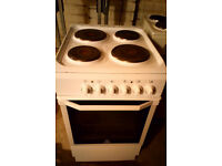 INDESIT ELECTRIC COOKER GOOD WORKING ORDER CLEAN CONDITION 50CM VIEWING WELCOME