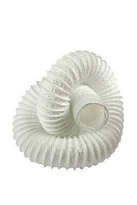 Flexible Fan Ducting 4inch/100mm Duct Pipe Hose  TUMBLE DRIER  - 3m
