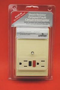 leviton 6592 i plug in ground fault circuit interrupter. Black Bedroom Furniture Sets. Home Design Ideas