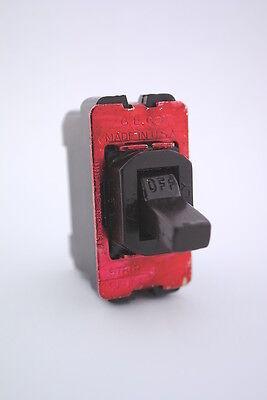 Ge Brown Despard Single Pole Toggle Switch 20 Amp-120/277 Volt