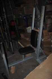 Commercial Grade Olympic Shoulder Press Bench