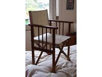 Chic folding garden/picnik chairs