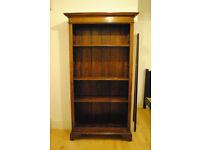 Bookcase / Bookshelf grained wood
