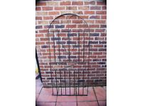 Arched Top Wrought Iron Gate plus fittings