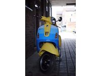 2008 Vespa GTS Super 300ie Marc Newson Collectors Art Piece never been ridden 9km
