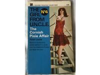 The Girl From Uncle No.4 Paperback 'The Cornish Pixie Affair - Souvenir 1967