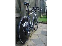 Specialized Transition TT/triathlon bike, disc wheel