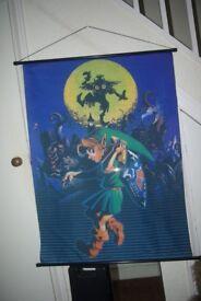 The Legend of Zelda Fabric Posters