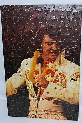 """Elvis Presley Aloha From Hawaii Assembled Puzzle 17"""" x 11"""" Poster Art"""
