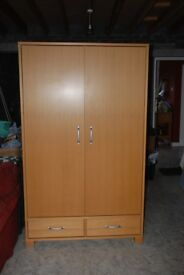 Large double wardrobe from Habitat very well built in excellent condition and very sturdy