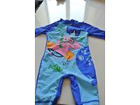 Peppa pig sun/swim suit 6-9 months brand new