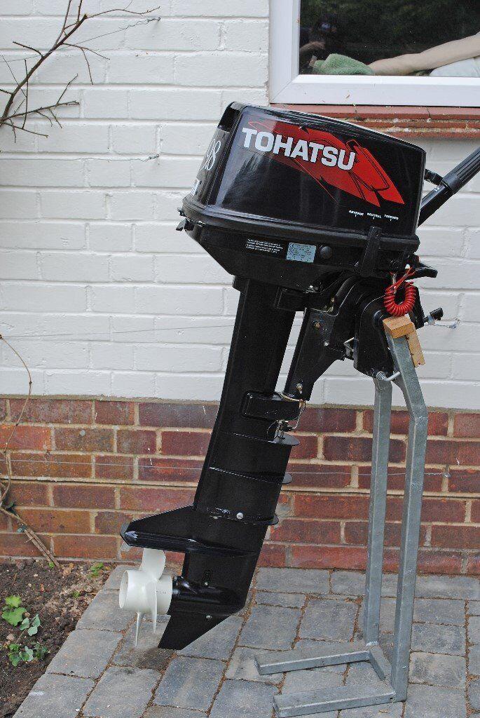 Long Shaft Outboard Motors : Tohatsu stroke long shaft outboard motor in