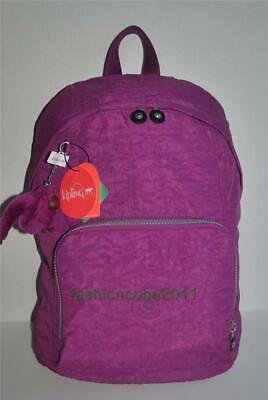 New With Tag KIPLING RIDGE ZIPTOP BACKPACK - COOL PURPLE