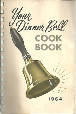 Washington Dc 1964 Antique   Your Dinner Bell Cook Book   Wtop Radio   Listeners