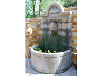 wap 4 car ect SOLID STONE WATER FOUNTAIN 2X GARDEN STONE OBELISK, garden ornament