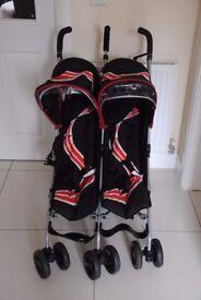 Kidz Cargo double stroller