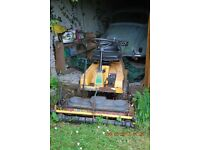 Stiga Villa Senator Ride on Mower £450 Runs well needs work to deck. Mulches. Buyer collects.