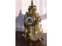 Antique French bronze bell-striking mantel/bracket clock by Berthoud of Paris