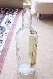 Giant Empty Whiskey Bottle, 21 inches high ,Great for saving change in