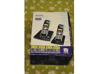 BINATONE SYMPHONY 2210 TWIN PHONE (TWO HANDSETS). Never used. £20