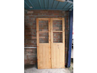 Double Doors for Shed or Sun House
