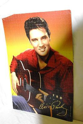 "Elvis Presley 1950's Guitar Pose Assembled Puzzle 27"" x 18"" Foam pcs Poster Art"