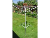 Rotary Washing Line - portable - by Sunncamp for caravan/motorhome etc