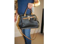 Lovely genuine leather ladies handbag