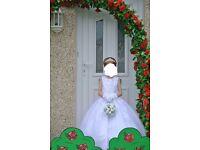 Amazing girls communion dress age 5-6