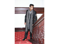 Men's Indian Sherwani for Bollywood Party Size 36 to 50