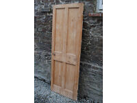 Two Solid Pine Victorian Doors - *Free Local Delivery