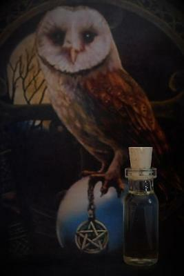 KNOWLEDGE Ritual Oil Anointing Oil Potion Elixir ~ Wicca Witchcraft Pagan