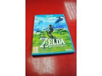 Nintendo Wii U Game: The Legend Of Zelda The Breath Of The Wild £55